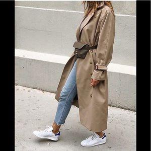 Uniqlo // Ines de la Fressange tan trench coat